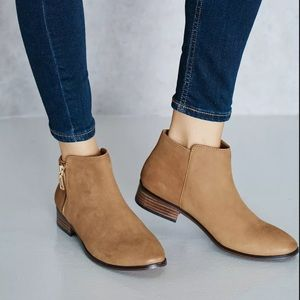 Aldo Ankle Booties boots Julianna 8 med brown